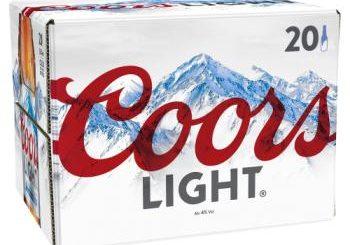 Coors Light Lager 20 x 330ml Bottles